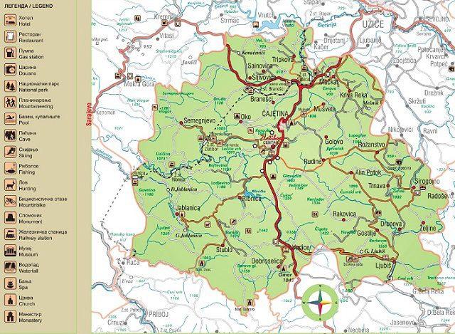 zlatibor karta srbije Hello Travel: Zlatibor